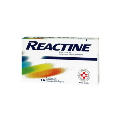 REACTINE 14CPR 5MG+120MG RP фото 3